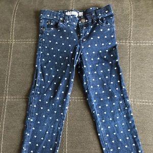 Carter's Girls Skinny Fit Dark Jeans Size 6